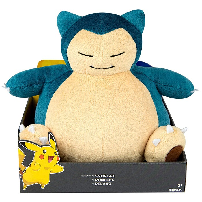 Pokemon Snorlax Bean Bag Plush In Box