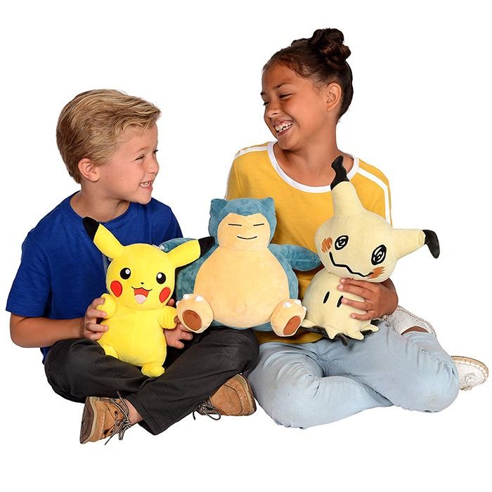 Pokemon Snorlax Bean Bag Plush With Kids