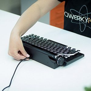 Typewriter Inspired Retro Keyboard