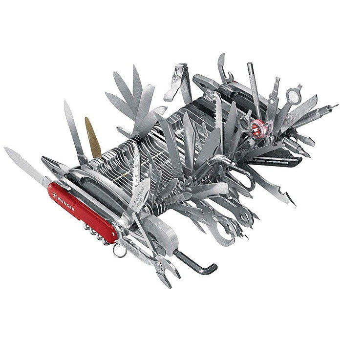 Wenger 16999 Giant Swiss Army Knife 7h