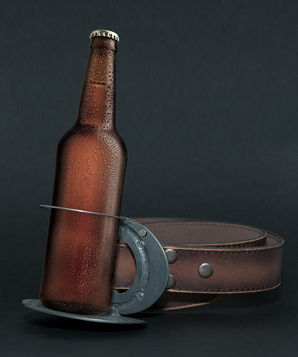 Belt Buckle Beer Holder 11