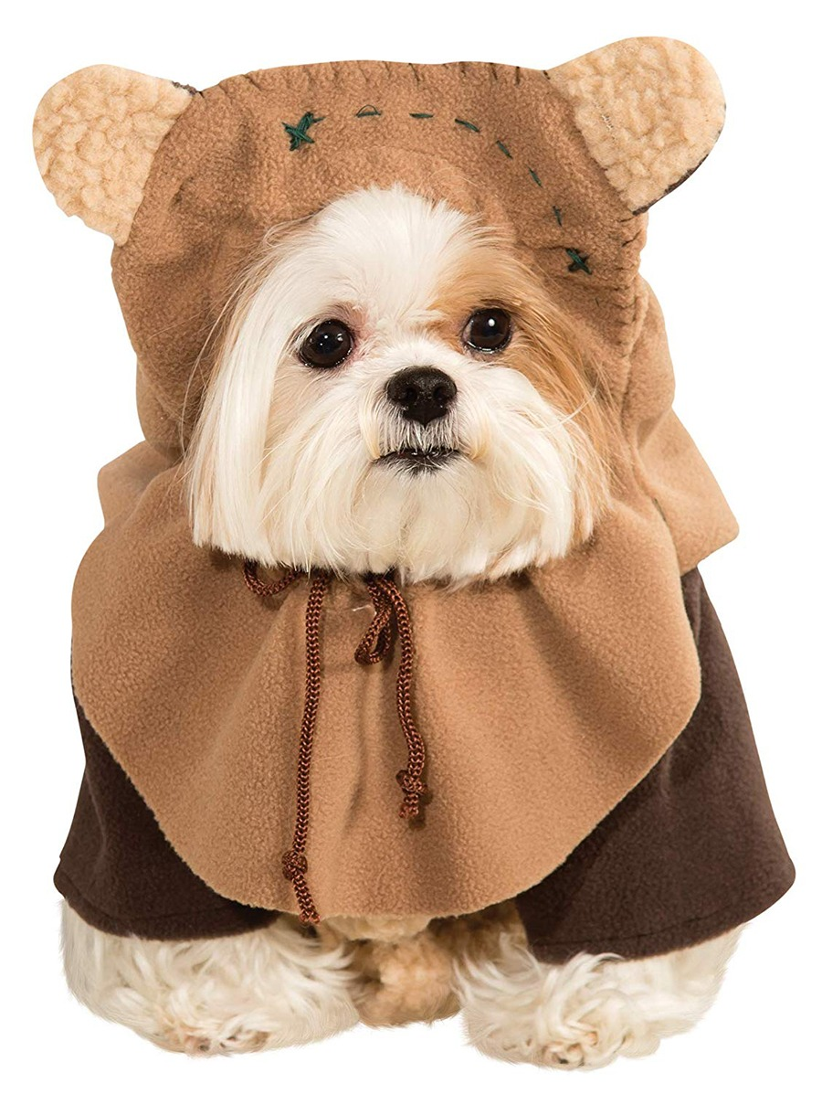 Ewok Dog Costume Full