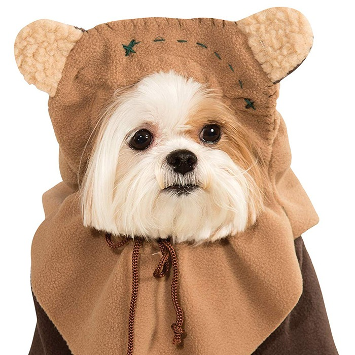 Ewok Dog Costume Ehi Kioya