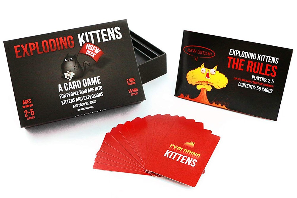 Exploding Kittens Card Game - NSFW Edition 2