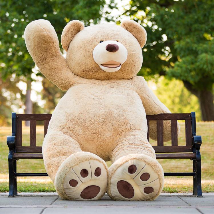 Giant 8 Foot Teddy Bear 2