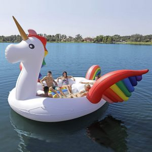 Giant Unicorn Lake Float