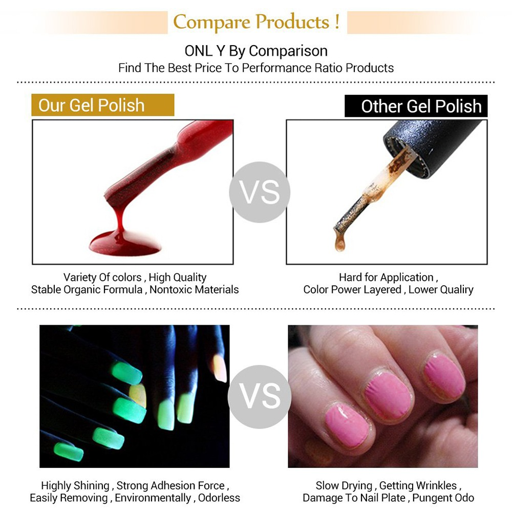 Glow In The Dark Nail Polish 8
