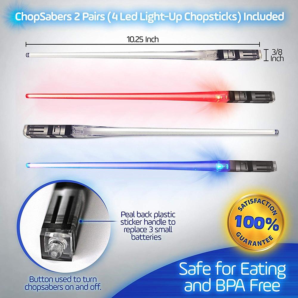 Lightsaber Chopsticks 4