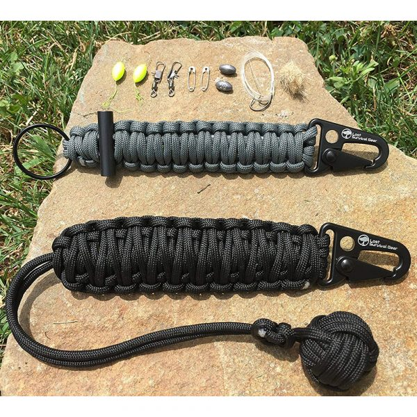 Monkey Fist Self Defense & Survival Keychain