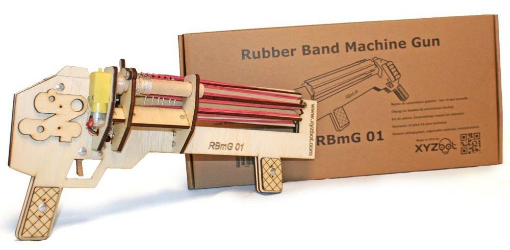 Rubber Band Gatling Gun 2