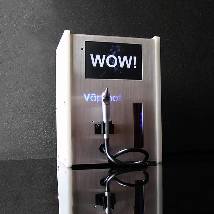Vapshot Vaporized Alcohol Shot Machine Silver