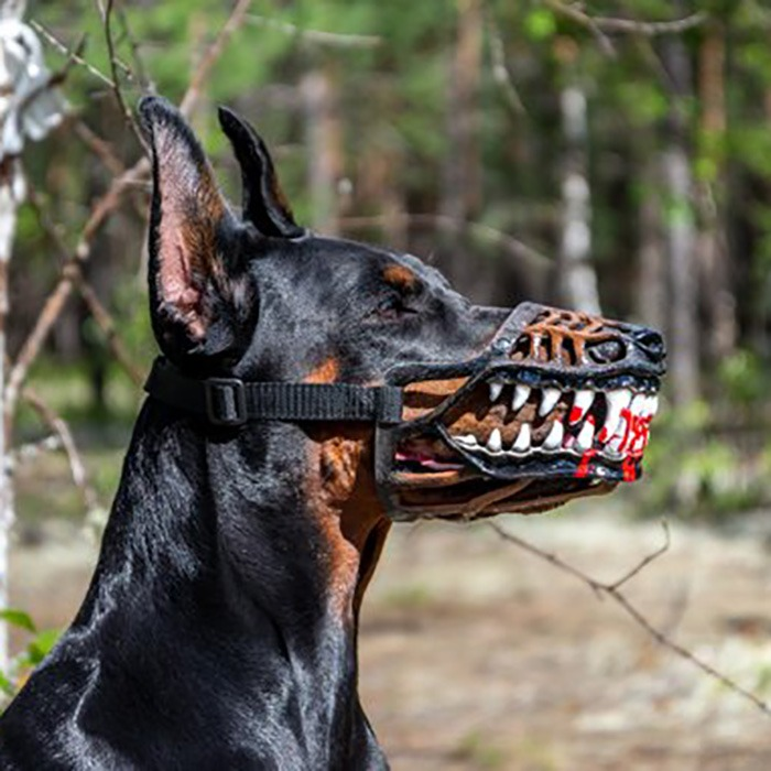 Werewolf Dog Muzzle 6
