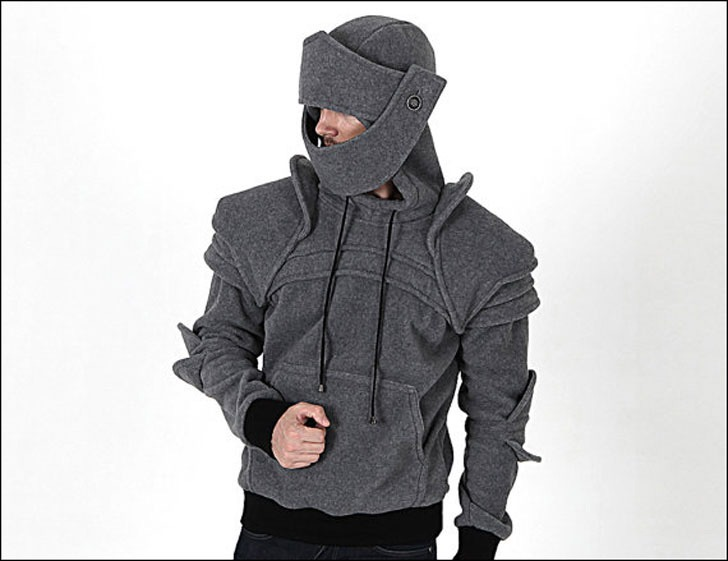 Armored Knight Hoodie 2