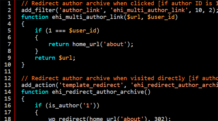 Changing Or Redirecting Your WordPress Author Archive Link