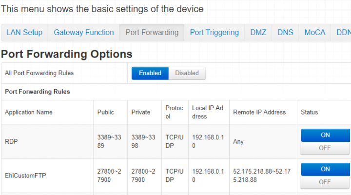 Configuring Port Forwarding For Remote Desktop Access - Featured