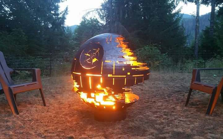 Death Star Fire Pit 2
