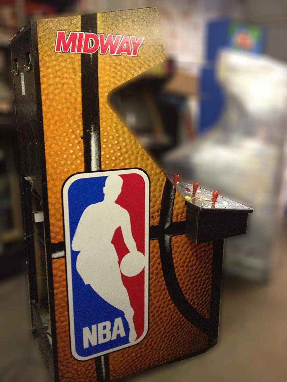 NBA Jam Arcade Machine 2
