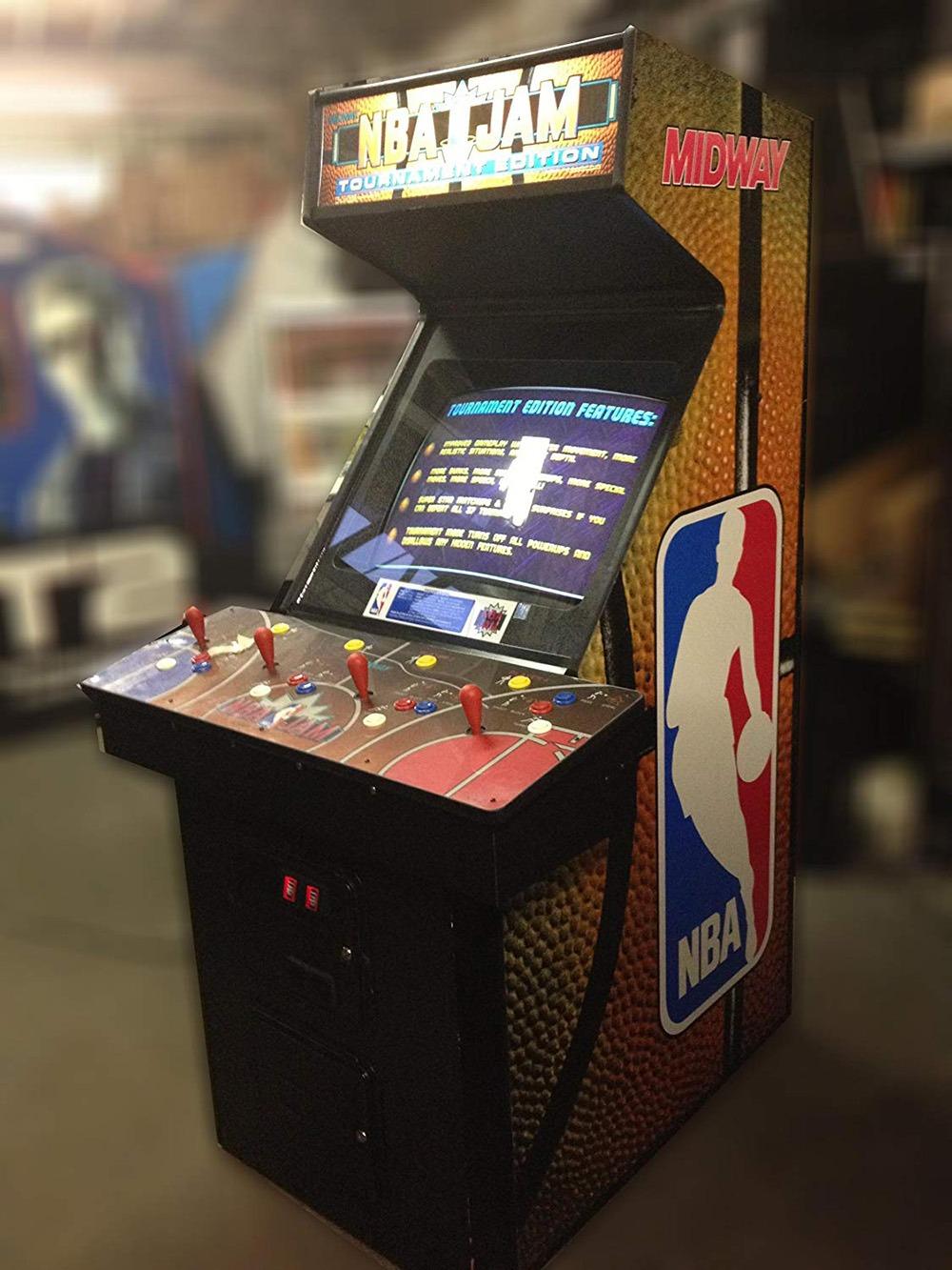 NBA Jam Arcade Machine 3