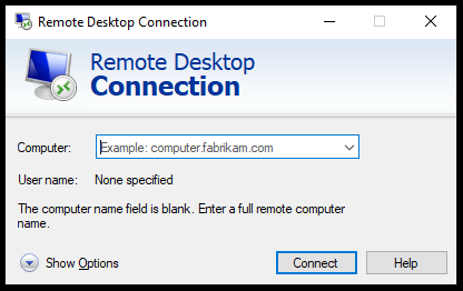 Remote Controlling Your Computer From Anywhere [RDP Screen]