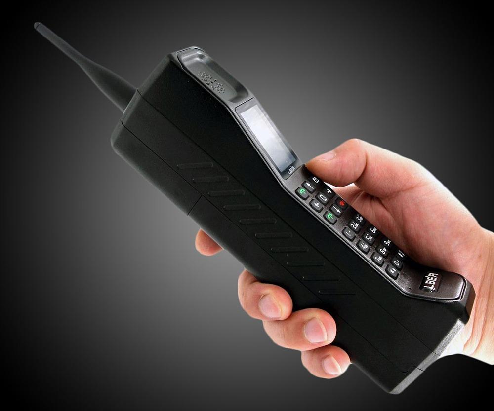 Retro Brick Cell Phone 2