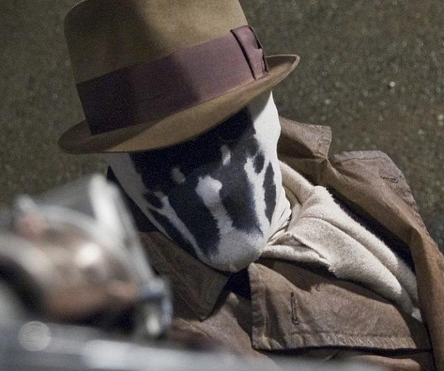 Rorschach Moving Inkblot Mask 2