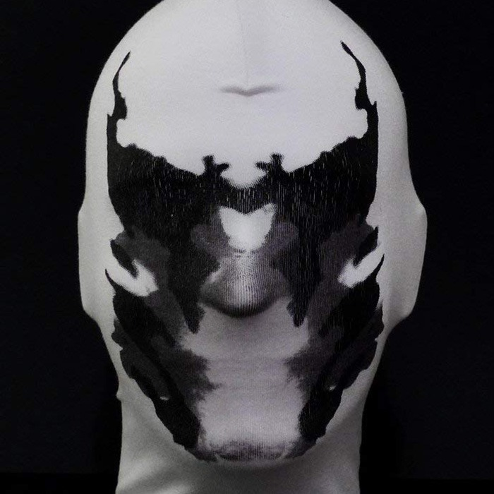 Rorschach Moving Inkblot Mask