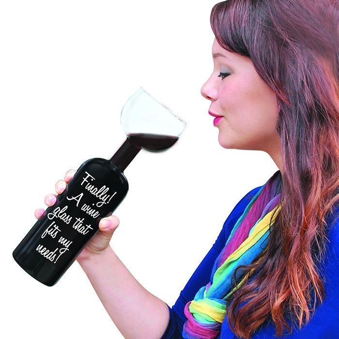 Ultimate Wine Bottle Glass 3