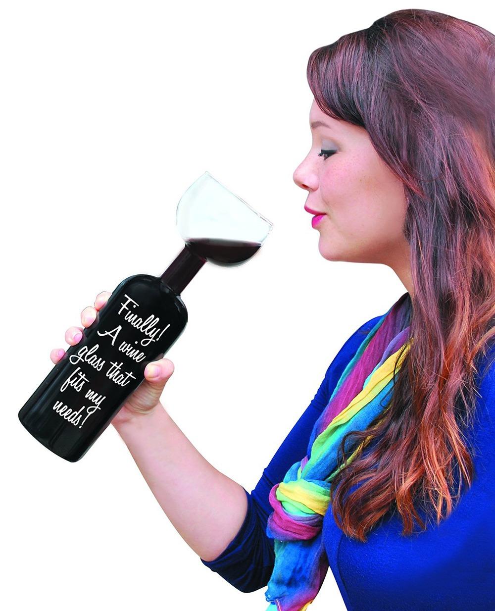 Ultimate Wine Bottle Glass 4