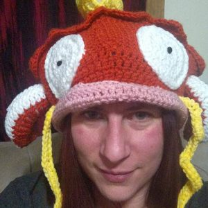 Crocheted Pokemon Magikarp Hat