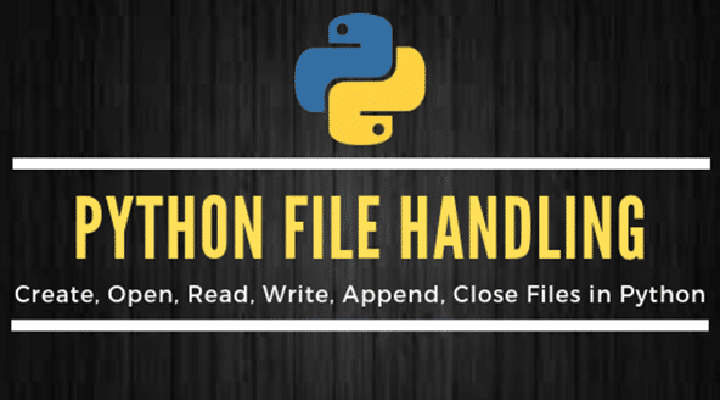 File Manipulation In Python - Read, Create, Open, Write, Append