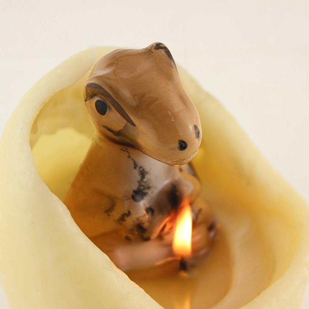 Hatching Dinosaur Egg Candle 4