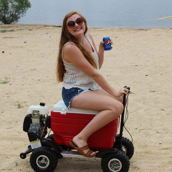 Motorized Cooler
