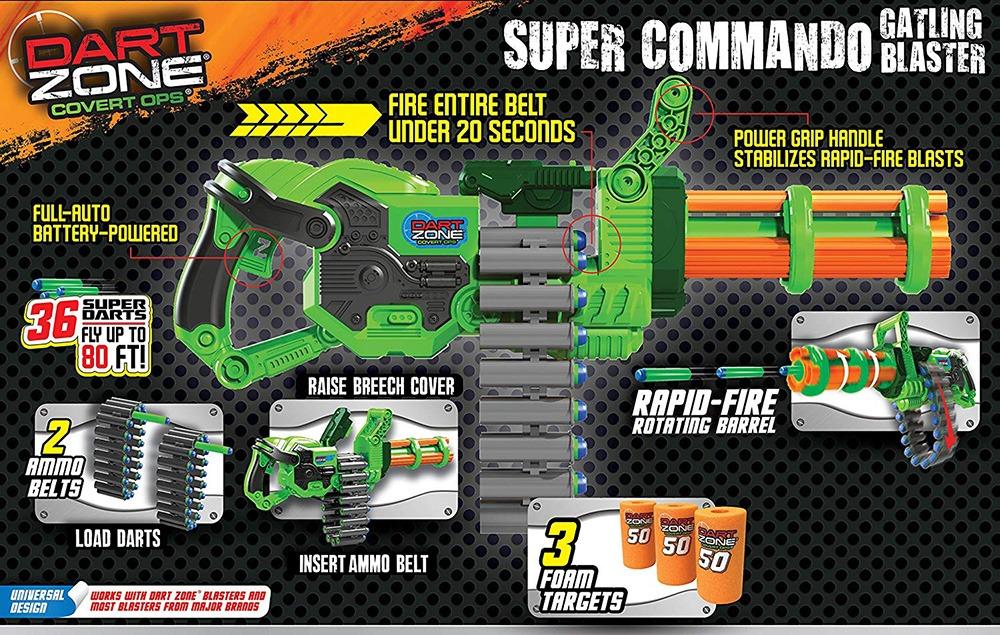 Nerf Machine Gun 8