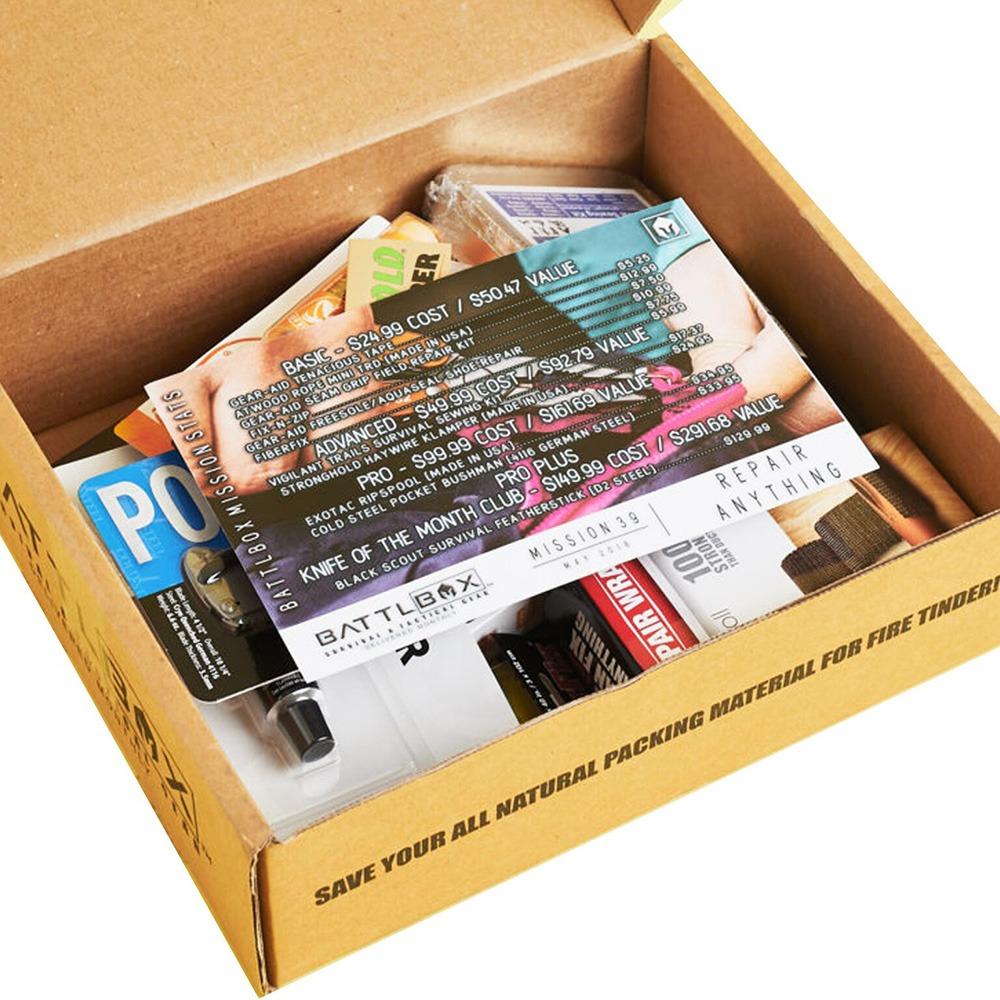 BattlBox Survival Gear Subscription Box Basic