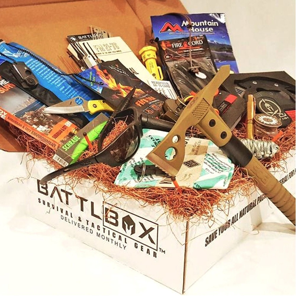 BattlBox Survival Gear Subscription Box Pro Plus