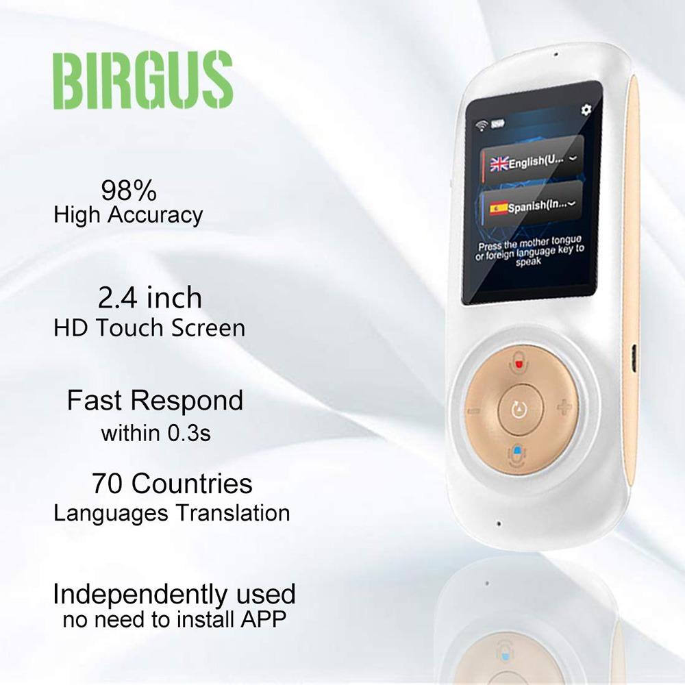 Birgus Instant Voice Language Translator 2