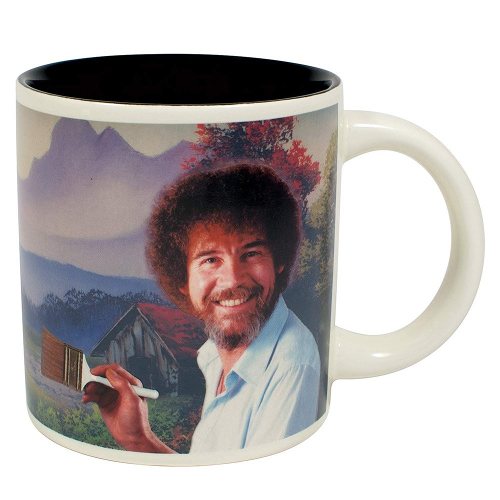 Bob Ross Heat-Changing Mug 6