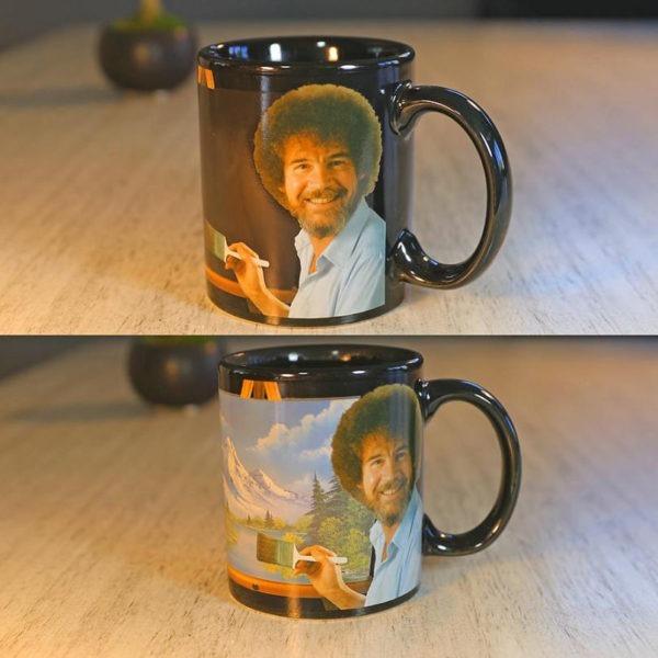 Bob Ross Heat-Changing Mug