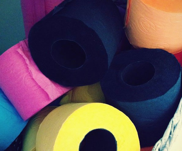 Colored Toilet Paper 8