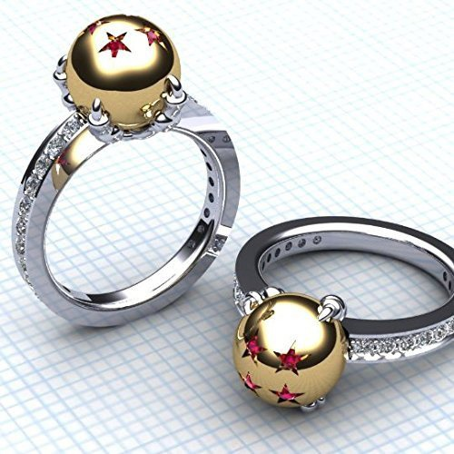 Dragon Ball Z Rings (Her)