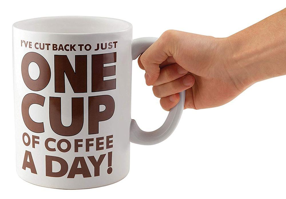 Giant Coffee Mug 3
