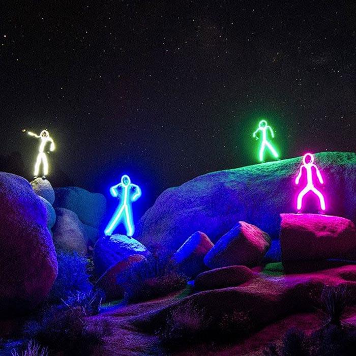LED Stick Figure Costume 2
