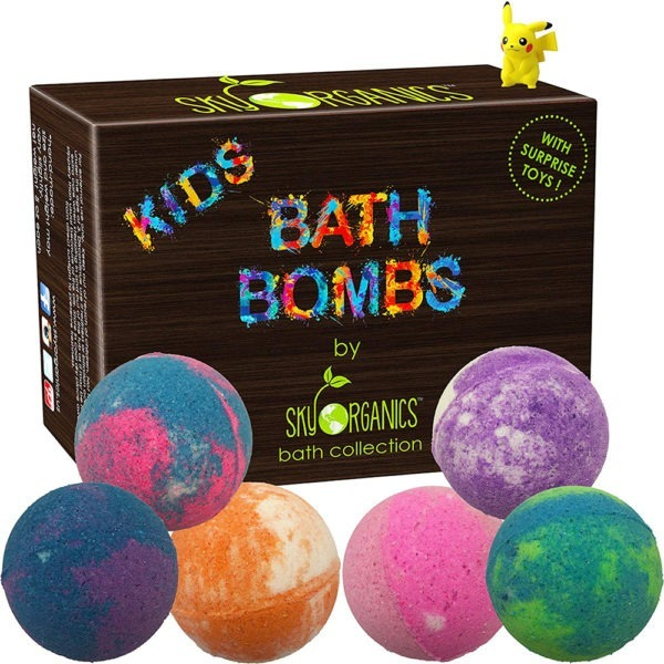 Pokemon Bath Bombs