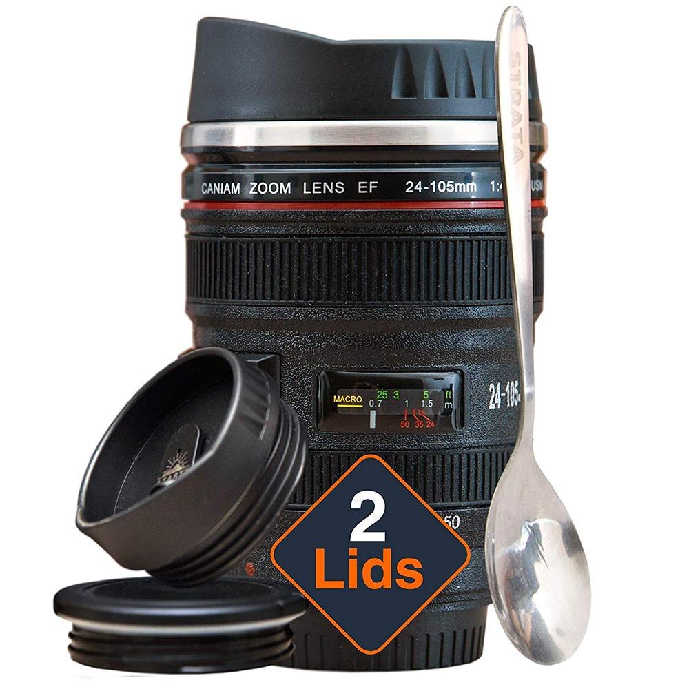 Strata Camera Coffee Mug