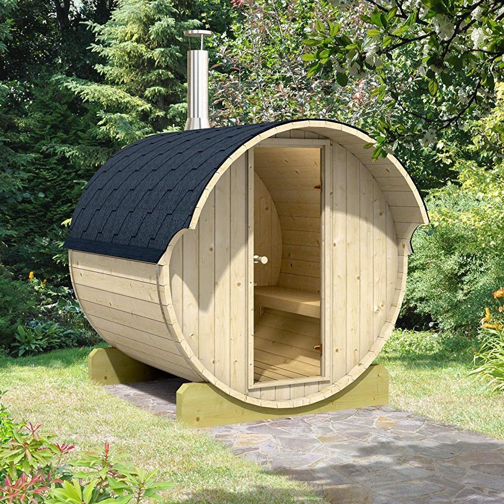 4 Person Barrel Sauna