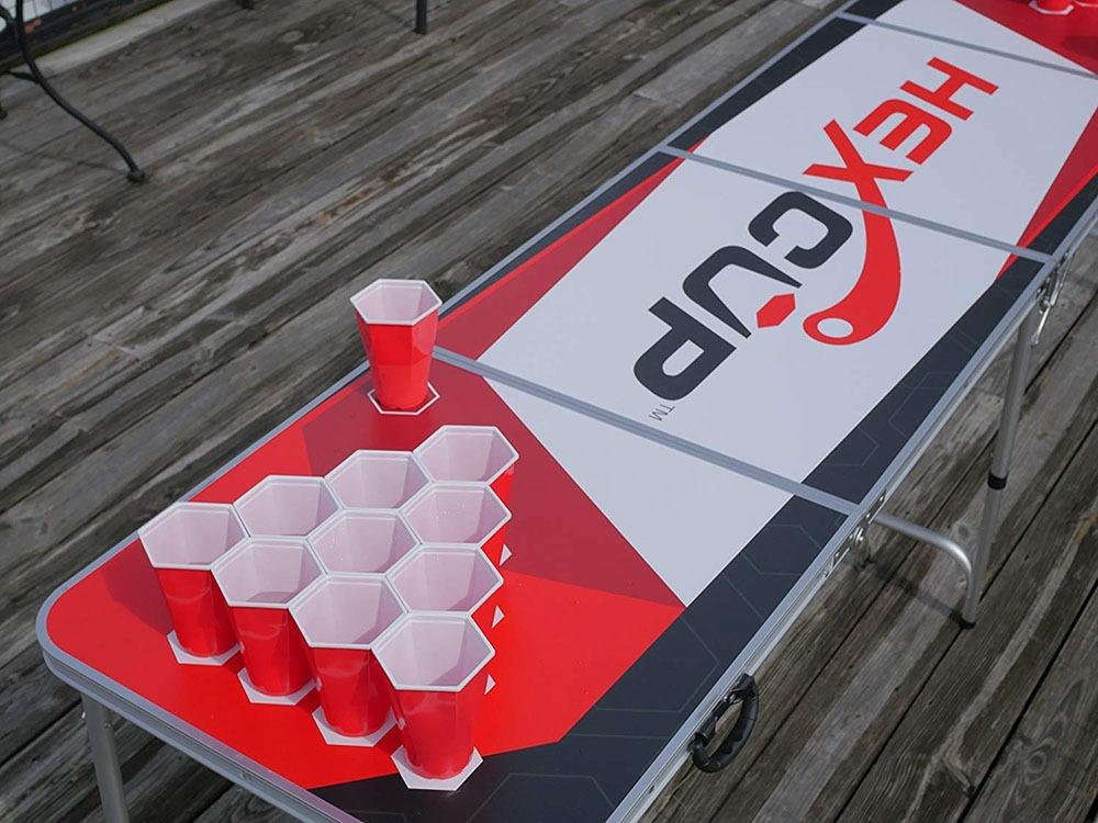 Hexagonal Beer Pong Cups 2