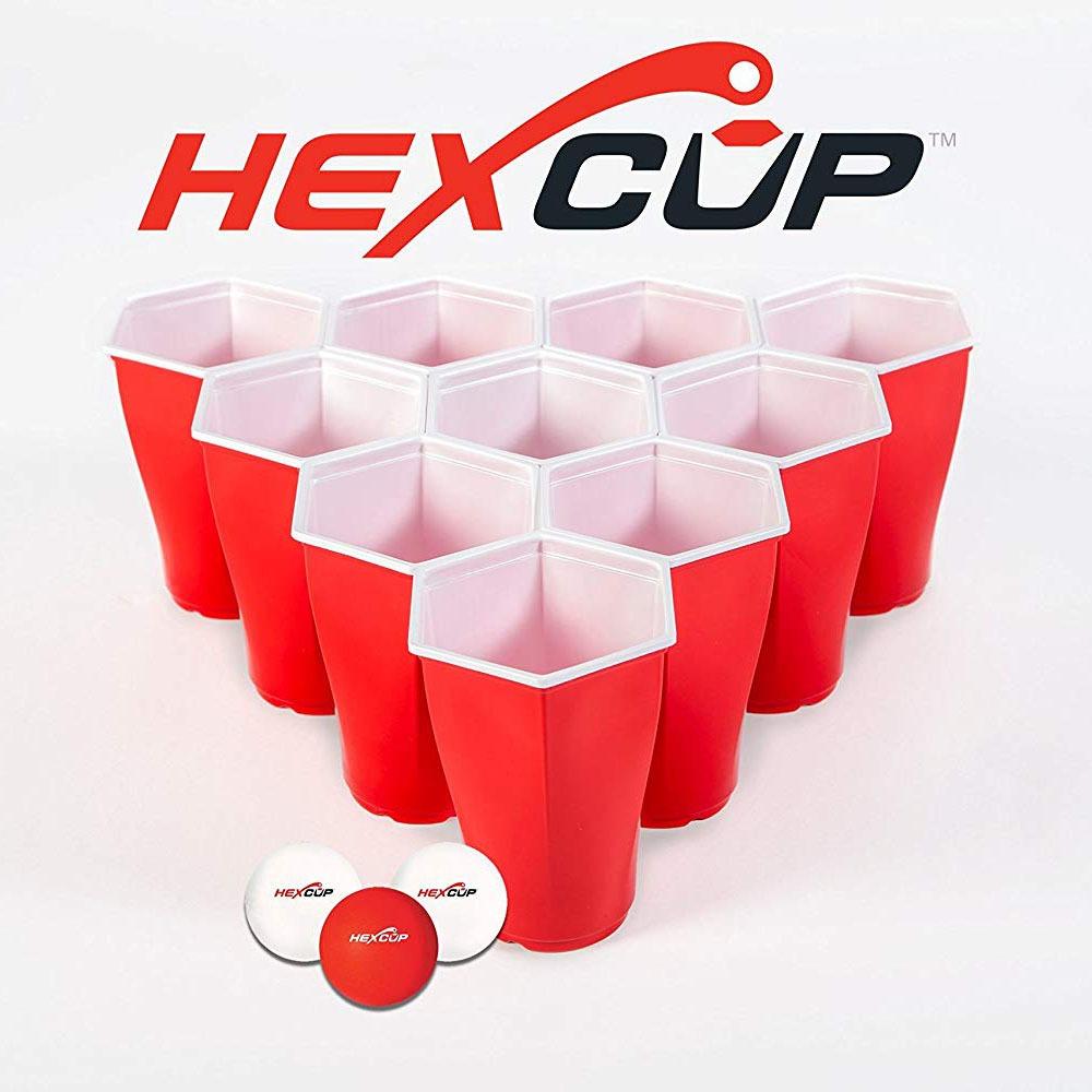 Hexagonal Beer Pong Cups 3