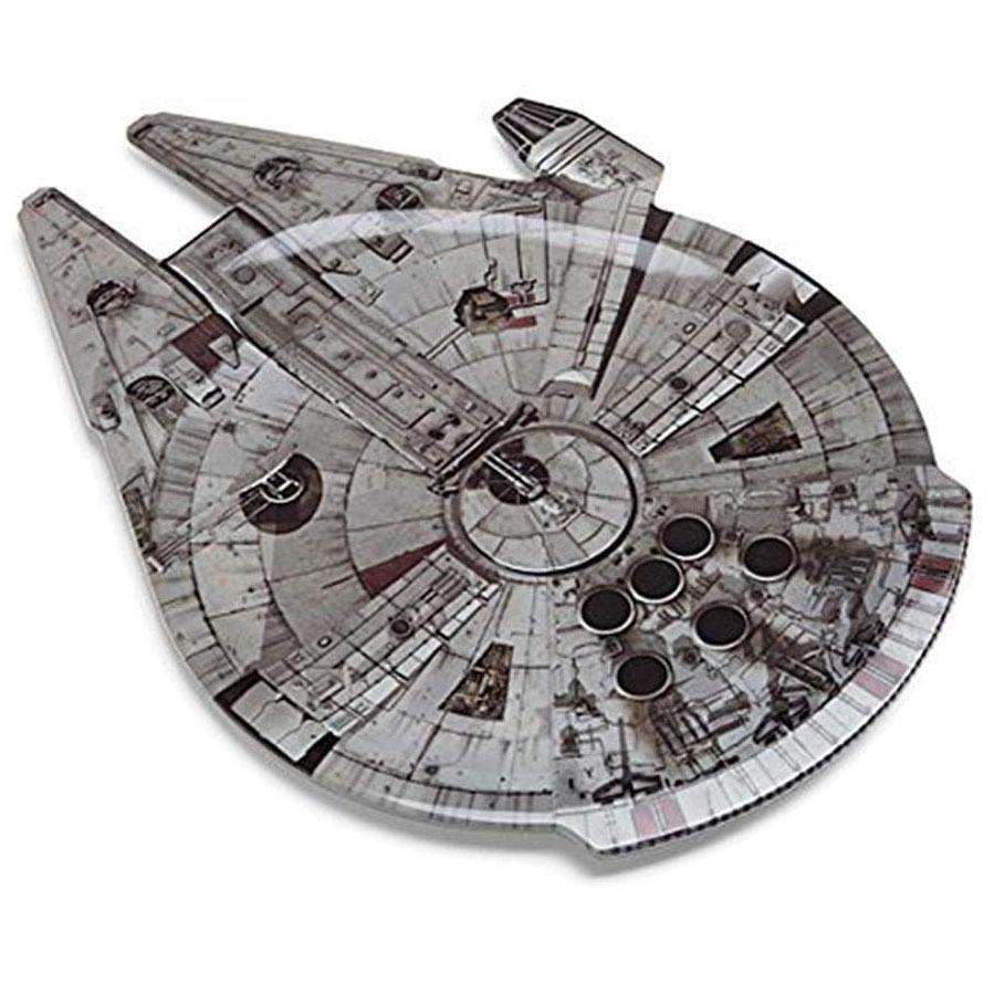 Millennium Falcon Plate 3