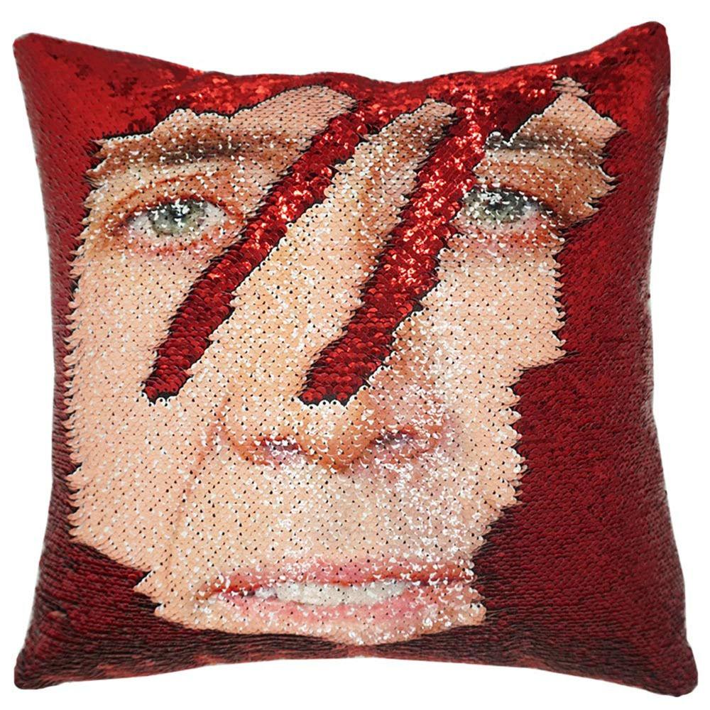 Nicolas Cage Sequin Pillow 2