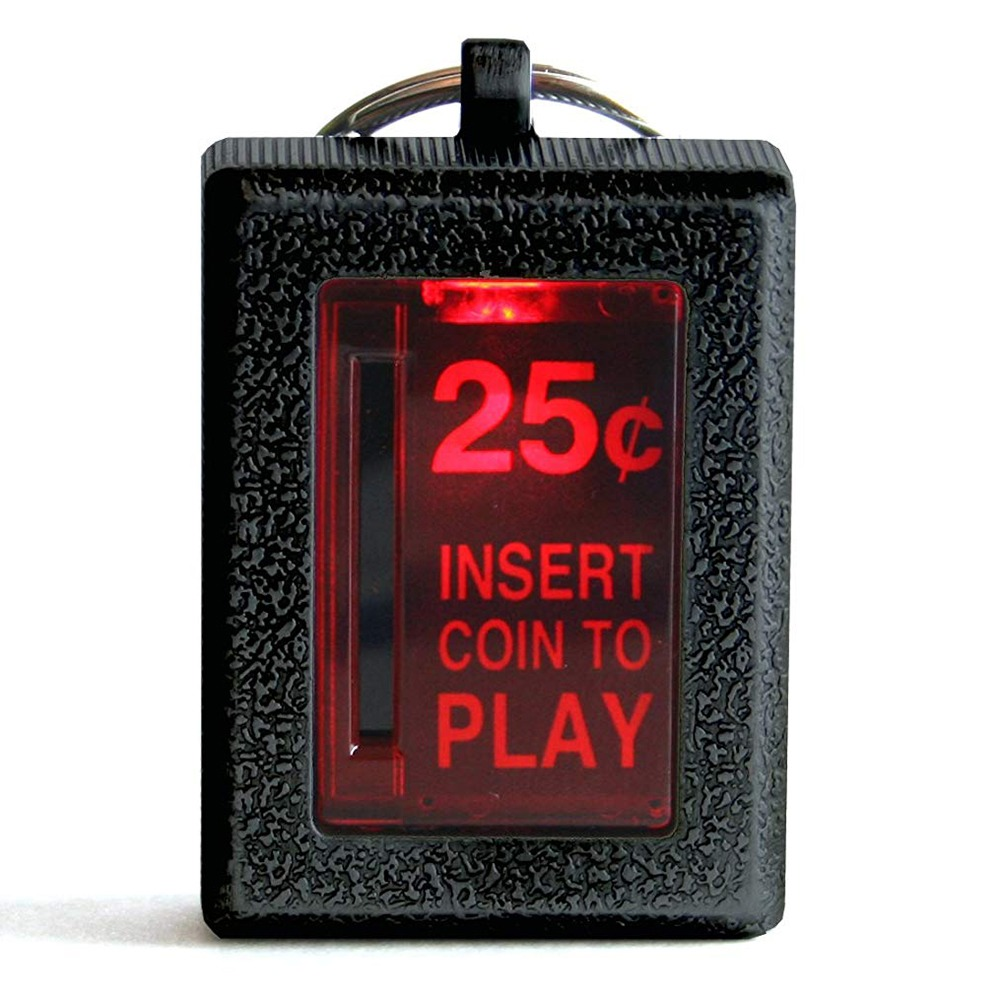 Insert Coin Arcade Keychain 3